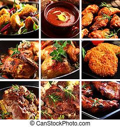 carne, pratos