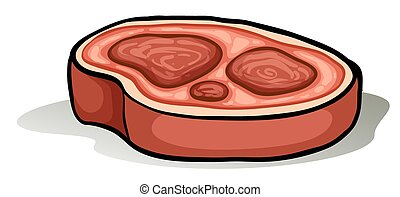 carne rebanada