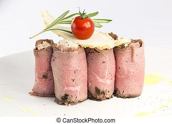 carne, rollos