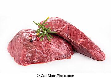 carne vaca cruda
