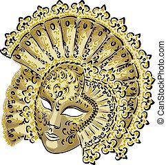 carnevale, mask., veneziano