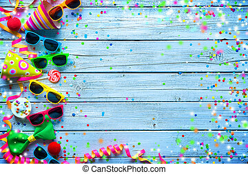 Carnival background - Colorful carnival background with ...