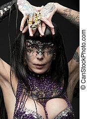 carnival bizarre woman