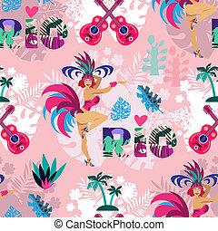 Carnival brazil pattern 3