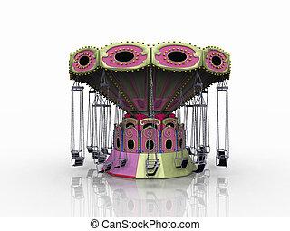 Carnival carousel ride