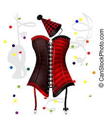 carnival corset