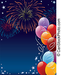 Carnival - Decoration ready for posters and cards, vector...