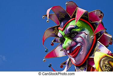 Carnival Float - Detail from a carnival float in Malta