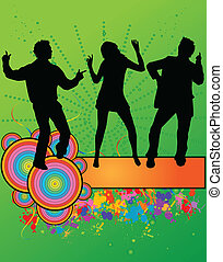 Carnival - grunge background