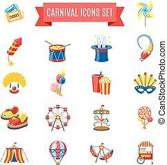 Carnival Icons Set