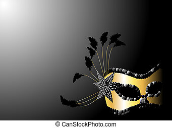 Carnival mask design. Available in jpeg and eps8 formats.