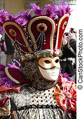 carnival mask in venice - Beautiful mask in Venice, Italy