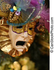 Carnival mask - Mask of the Carnival with suffering grimace