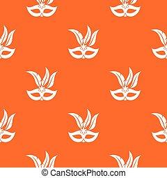 Carnival mask pattern seamless