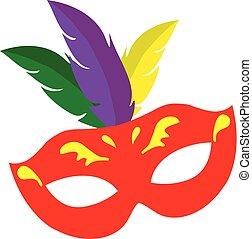 Carnival Mask - vector carnival mask mardi gras