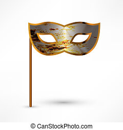 Carnival Mask. Vector illustration.
