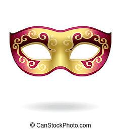 Carnival Mask - Vector illustration of a carnival mask