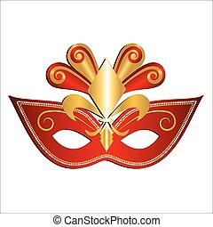 Carnival Mask. Vector