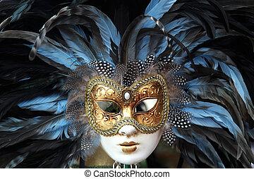 Carnival Mask Venice - a Carnival Mask from Venice, Italy