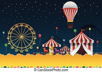 Carnival Night Poster