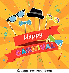 Carnival party poster