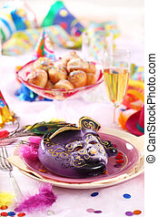 Carnival place setting
