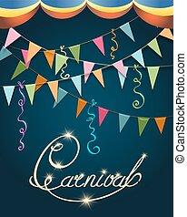 Carnival Poster Festive Design