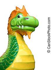 Carnival ride dragon