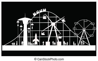 carnival silhouette