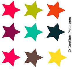 Carnival Star Shapes
