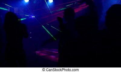 Carnival with a laser show