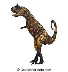 Carnotaurus 01 - The Carnotaurus dinosaur was a large...