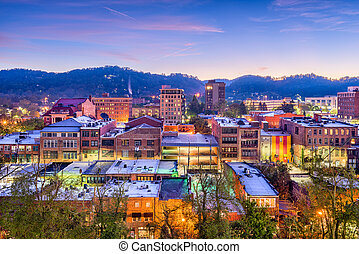 carolina, norte, eua, asheville