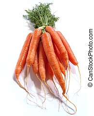 carottes, tas