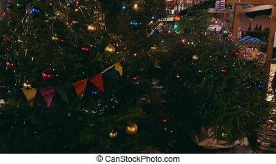 Carousel at christmas fair