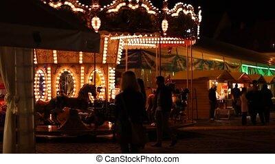Carousel at Nightv
