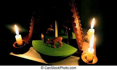 Carousel    - Carousel mechanical toy