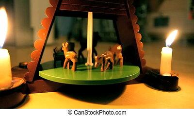 Carousel   mechanical toy