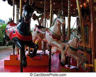 carousel - merry go round