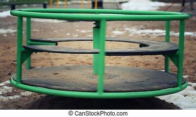 Carousel playground
