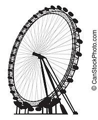 carousel, sylwetka