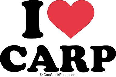 carpa, amor