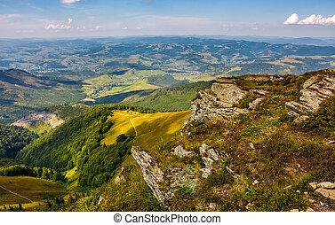 Carpathian Mountain Range in summer - Carpathian Mountains...