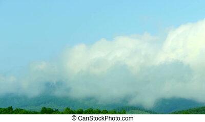 Carpathian timelapse - Clouds timelapse in Carpathian...