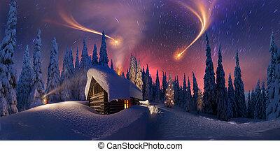 carpathians, kerstmis