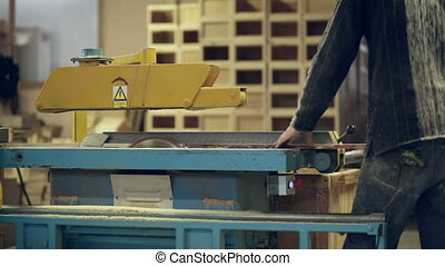 carpenter circular saw work video