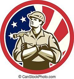 carpenter-crossarm-up CIRC GR USA-FLAG-ICON
