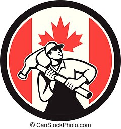 carpenter-hammer-triangle GR CAN-FLAG-ICON
