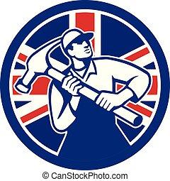 carpenter-hammer-triangle GR UK-FLAG-ICON