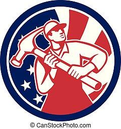 carpenter-hammer-triangle GR USA-FLAG-ICON